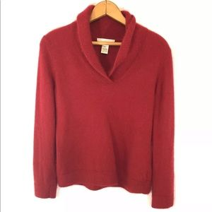 Sarah Spencer Knitted Angora Lambswool Sweater PL